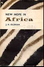 New Hope in Africa
